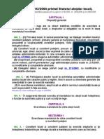 Statutul Alesilor Locali