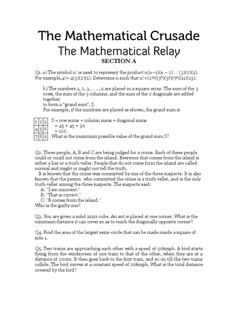 Mathematical relay sequence discrete mathematics biocorpaavc Image collections
