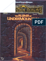 TSR 1060 - Ruins of Undermountain I