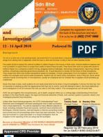 Understanding Fraud Deterrent and Investigation