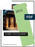 Project on Restaurant