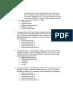 Soal Ujian Kompetensi Dokter Umum Sub Bag Infeksi