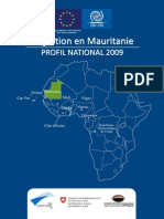 Mauritanie Profile 2009