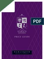 Marquis Price List