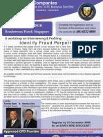 Identify Fraud Perpetrators