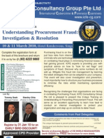 Understanding Procurement Fraud - Investigation & Resolution