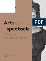 Arts Du Spectacle, d'une collection privée