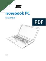 Asus X750LN User Manual
