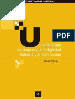 CJ Colección virtual 006 - Un salario que corresponda a la dignidad humana y al bien común...