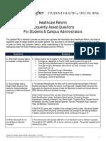 Healthcare Reform College Health