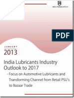 india lubricants industry outlook