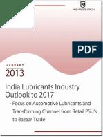 india lubricants industry outlook
