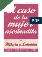 Mihura Miguel - El Caso De La Mujer Asesinadita.DOC