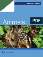 Animals-Teacher Edition V2
