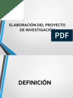 6. Elaboración del Proyecto de Investigación (Parte 1).pptx