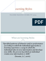 learning styles 2014