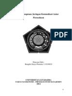 Rancangan Jaringan Komunikasi Antar Perusahaan