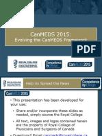 Canmeds 2015 Presentation