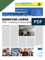 Randstad Lisboa | 2010 Ano de Mudança e Responsabilidade Social | Paula Falé | Diário de Notícias