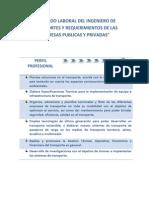 MERCADO LABORAL DEL INGENIERO DE TRANSPORTES Y REQUERIMIENTOS DE LAS EMPRESAS PUBLICAS Y PRIVADAS.docx