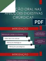 NUTRIÇÃO ORAL NAS AFECÇÕES DIGESTIVAS CIRÚRGICAS.pptx