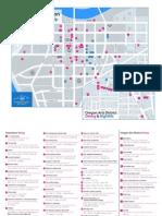 Dining & Nightlife Map - Downtown Dayton Ohio