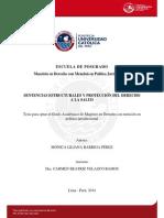 TESIS SENTENCIAS ESTRUCTURALES Y PROTECCION DEL DERECHO A LA SALUD MONICA LILIANA BARRIGA PEREZ 2014.pdf