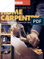 Complete Guide to Home Carpentry