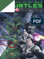 Teenage Mutant Ninja Turtles/Ghostbusters #1 (of 4) Preview