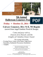 MC Halloween Prayer Vigil
