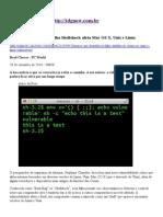 Maior que Heartbleed, falha Shellshock afeta Mac OS X, Unix e Linux.pdf