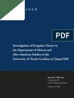 Unc Final Report