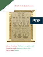 Rugaciunea Tatal Nostrul in Limba Aramaica