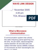 Microwave Link Design