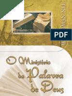 Watchman Nee - O ministério da Palavra de Deus.pdf