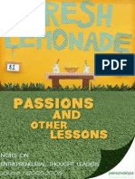 Passions and Other Lessons