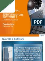Sun VDI 3 Technical Presentation, 04-10-2009