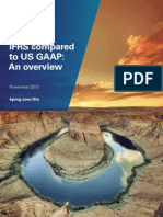 IFRS Compared to US GAAP an Overview O 201311