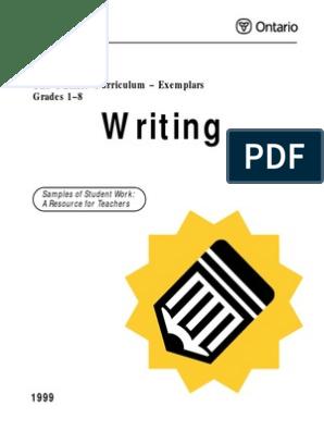 Writing 18 Ex   Rubric (Academic)   Educational Assessment