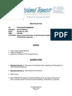 2014-10-24 Special Mtg Agenda