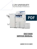 Ricoh Color Copier [D027, D029] Aficio MP C4000, MP C5000 Parts & Service Manual.pdf