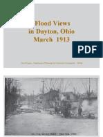 1913 Flood Views Dayton Ohio