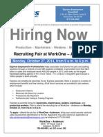 Express Employment Professionals 10-27-14