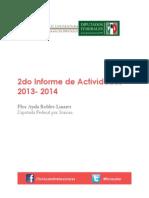 Informe de Trabajo  2013-2014 FARL