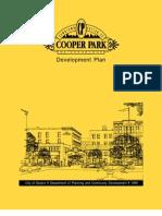 Cooper Park Neighborhood Development Plan - Downtown Dayton Ohio