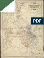 Mapa Ferrocarriles Argentina 1899