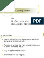 Bma4723 Vehicle Dynamics Chap 8