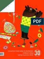Spring/Summer 2015 Frontlist Catalog - Children's/YA Titles