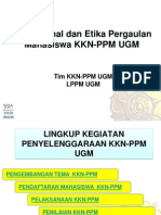 Operasional Dan Etika Pergaulan KKN 2013