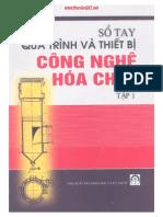 So Tay Qua Trinh Thiet Bi Cong Nghe Hoa Chat T1-Svcnhh